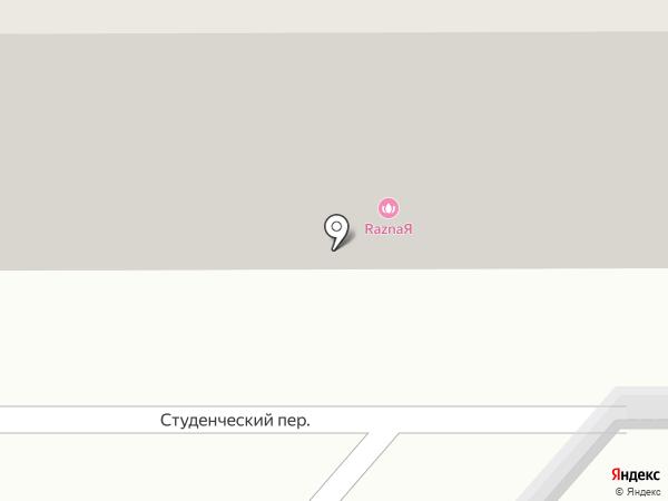 МИЛОРД на карте Хабаровска