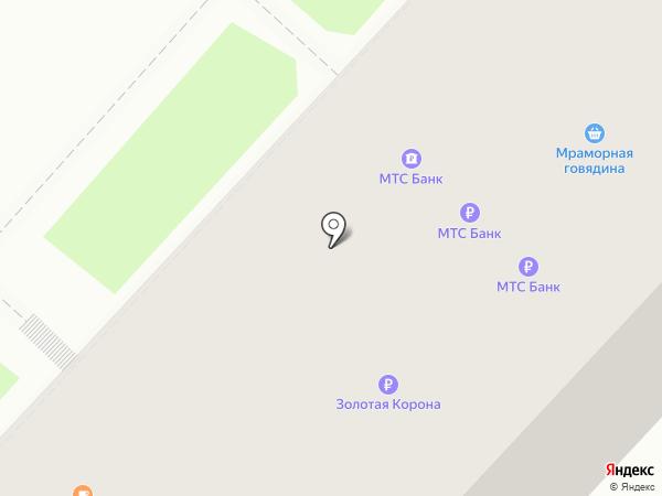 Лотос на карте Хабаровска