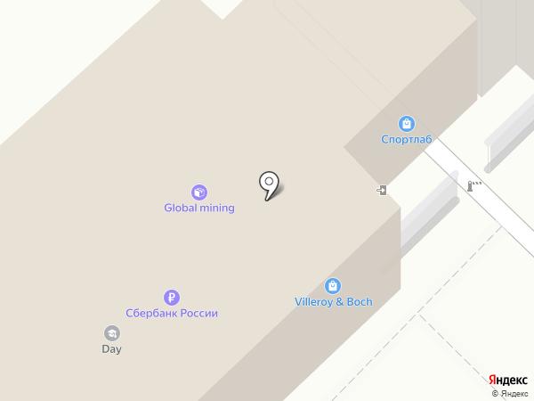 Назаров А.И. на карте Хабаровска