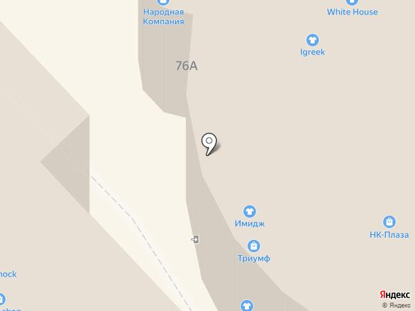 Я сама на карте Хабаровска