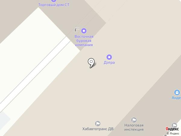 Орион на карте Хабаровска