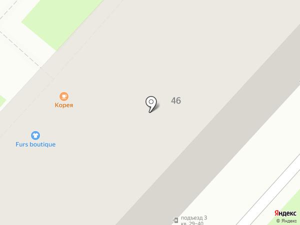 Сенокос на карте Хабаровска