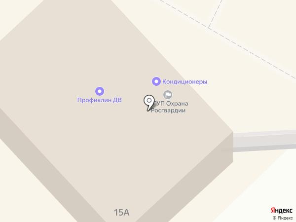 Нимелен на карте Хабаровска