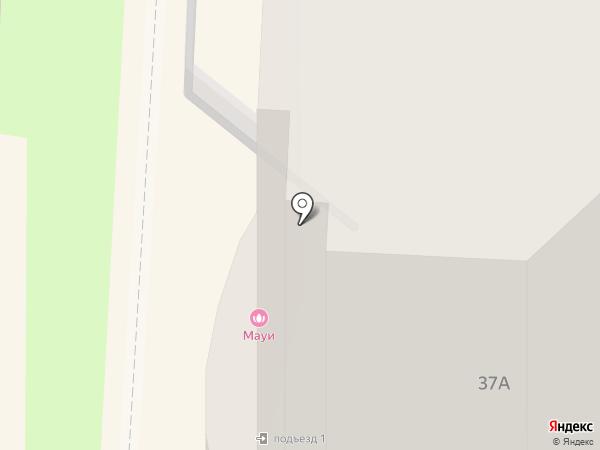 Таккетти на карте Хабаровска