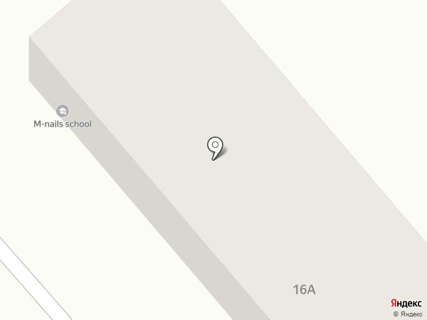 Marlen Nails на карте Хабаровска