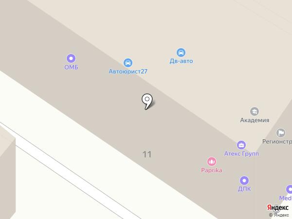 СТРОЙУЧЁТСЕРВИС на карте Хабаровска