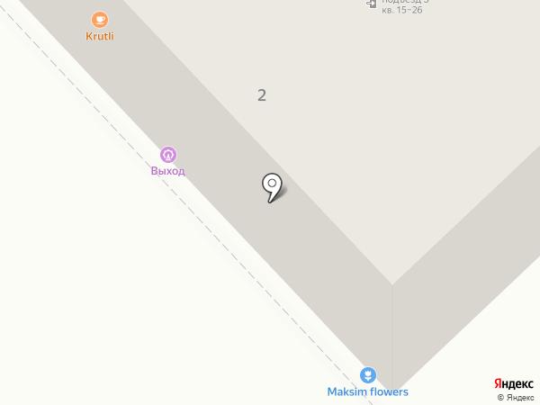 выХод на карте Хабаровска