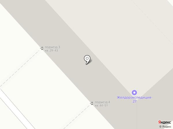 Кариатида, ТСЖ на карте Хабаровска