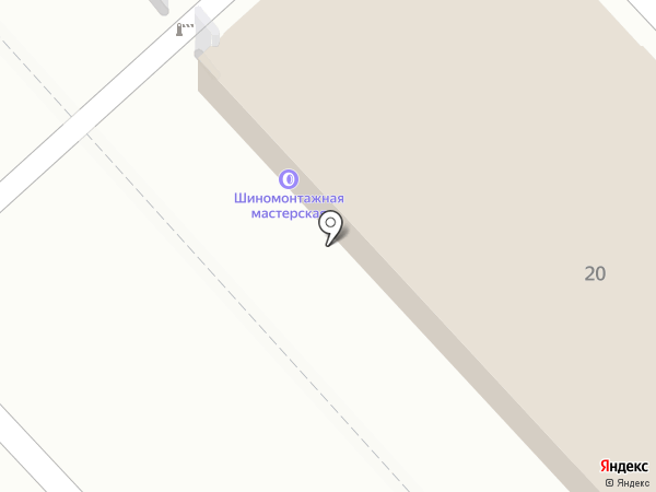 Автомотив на карте Хабаровска
