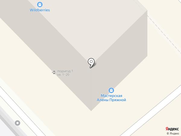 Инфо-центр на карте Хабаровска