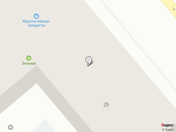 Золушка на карте Хабаровска