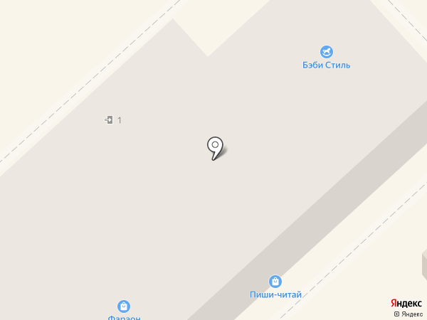 Студио на карте Хабаровска