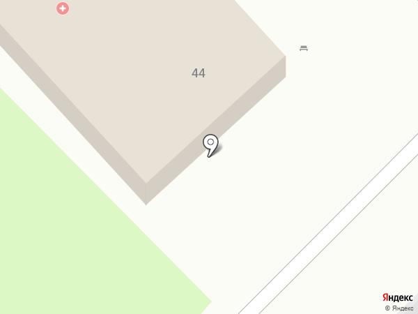 Скорая медицинская помощь на карте Хабаровска