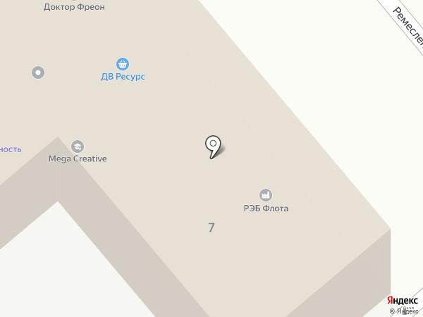 Бесконечный картридж CONST на карте Хабаровска