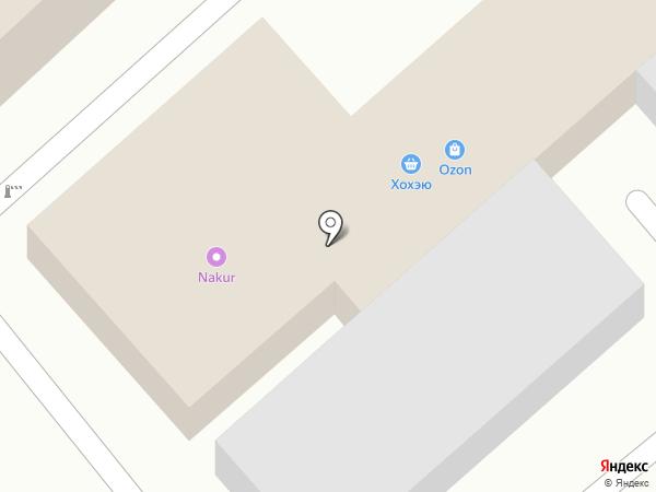 Okchicken на карте Хабаровска