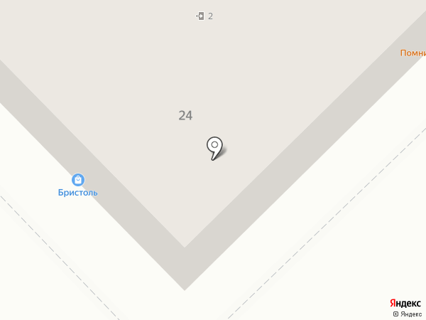 Элеганс на карте Хабаровска