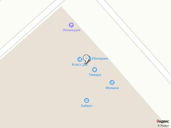 Эдгар на карте Хабаровска