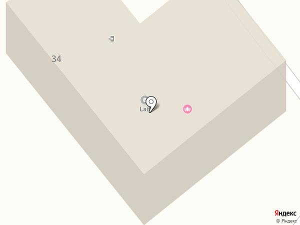Водолей-Строй на карте Хабаровска