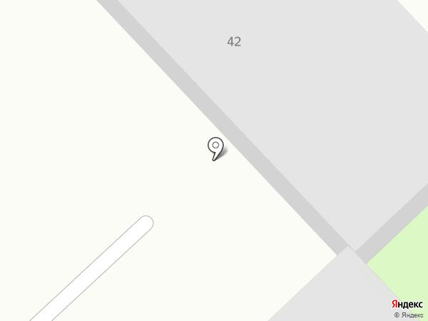 Специализированная станция медицинской скорой помощи на карте Хабаровска
