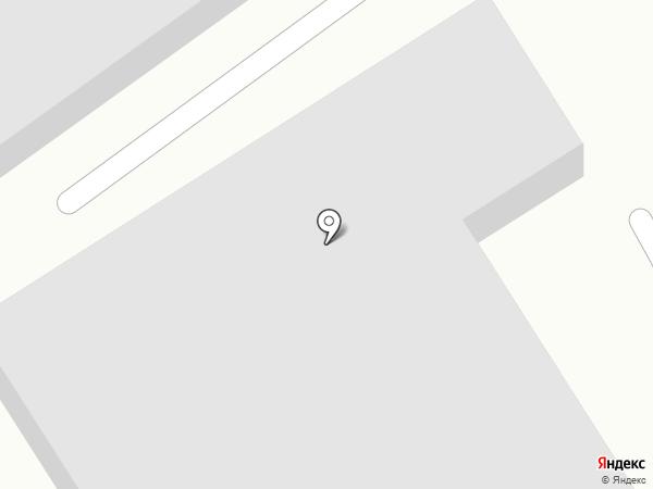 Автосервис на Кулибина на карте Хабаровска