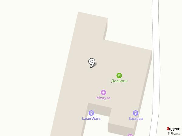 Лазерные войны на карте Хабаровска