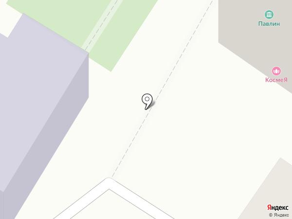 Павлин на карте Хабаровска