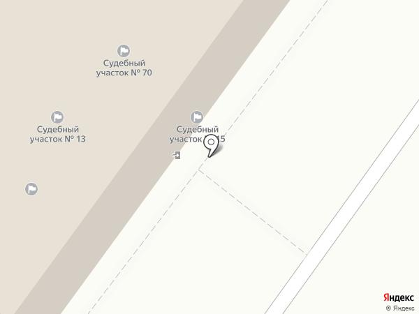 Мировые судьи Индустриального района г. Хабаровска на карте Хабаровска