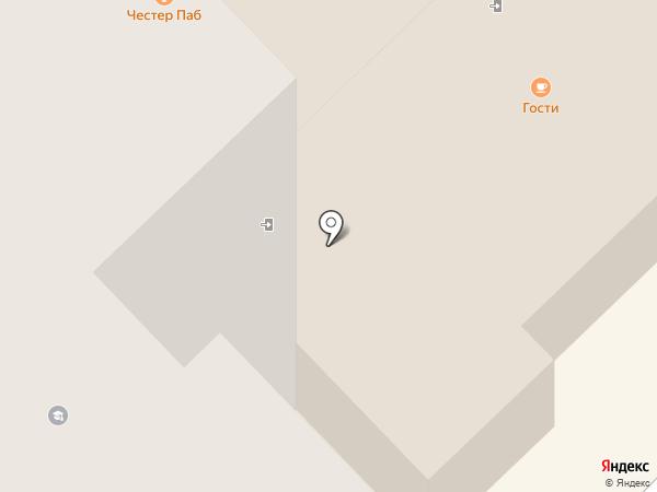 Chester party-pub на карте Хабаровска