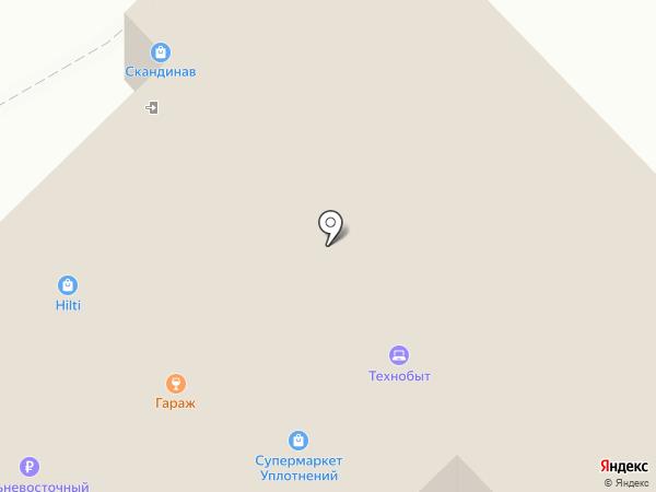 Центр Автомобильной Безопасности на карте Хабаровска
