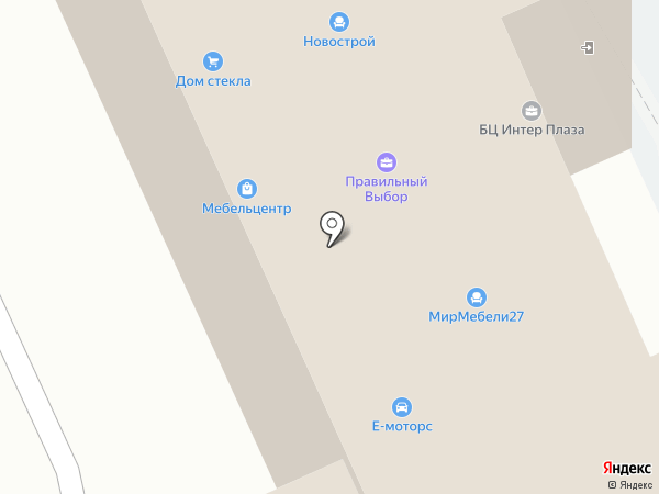 Лига аварийных комиссаров на карте Хабаровска