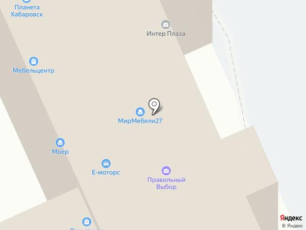 Платон Мебель на карте Хабаровска