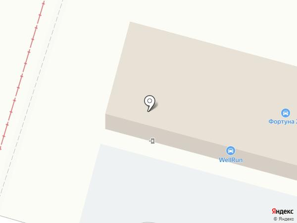 Вэллран на карте Хабаровска