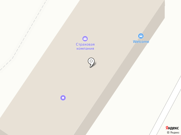 WELCOME на карте Хабаровска