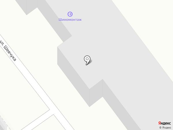 Автокраски-ДВ на карте Хабаровска
