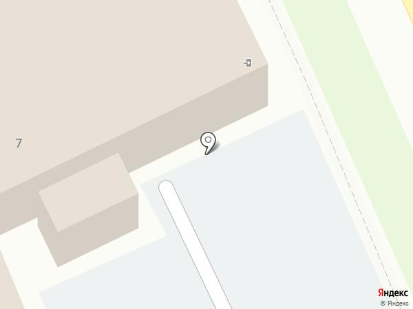 Железяка на карте Хабаровска