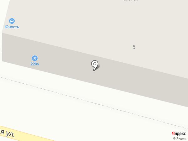 Крэг-ДВ на карте Хабаровска