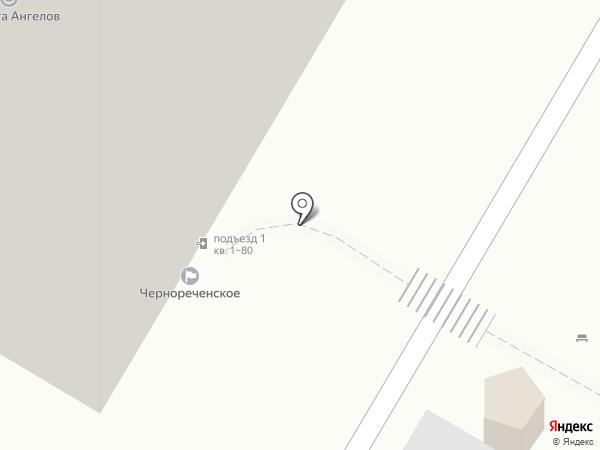 Чернореченское, ТСЖ на карте Хабаровска