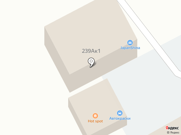 JapanShina на карте Хабаровска