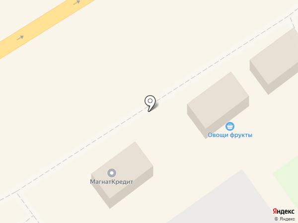 Магазин овощей на карте Хабаровска