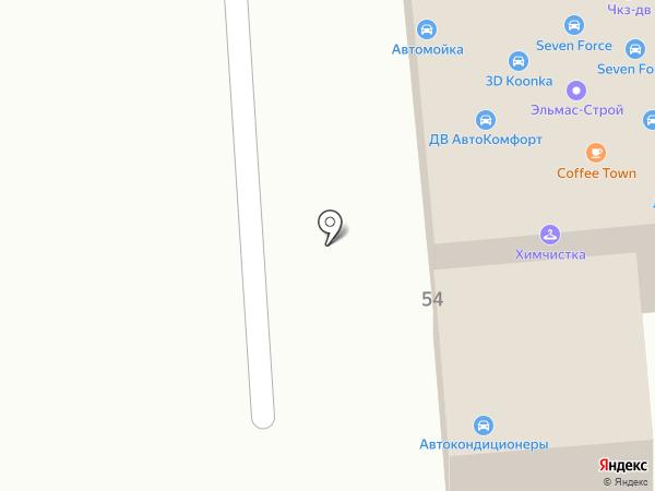 Автодеталь27 на карте Хабаровска