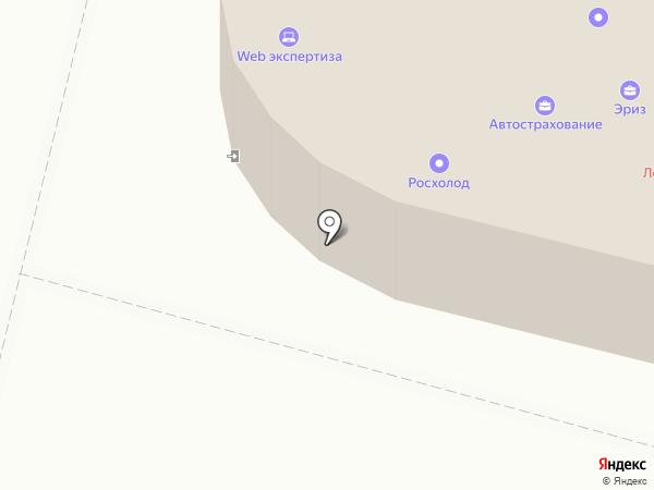 Челноков А.В. на карте Хабаровска
