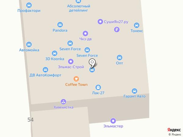 Магазин инструментов на карте Хабаровска
