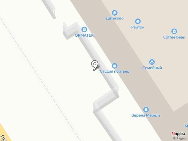 Инсон на карте Хабаровска