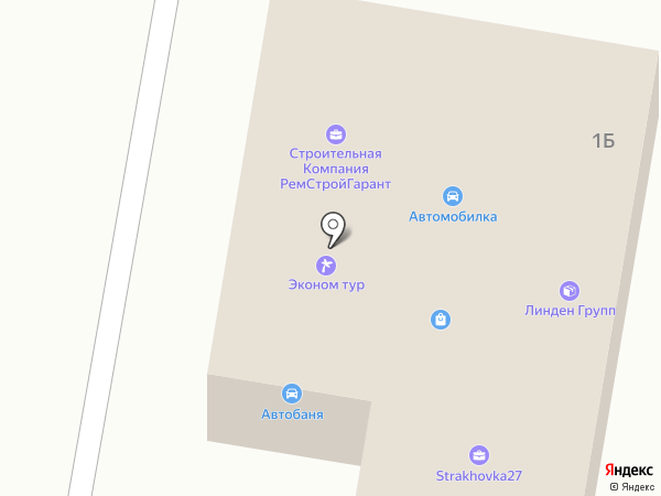 Ай Кью Сервис на карте Хабаровска