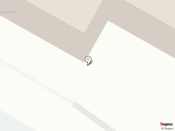 Прокат на Ерофее на карте Хабаровска