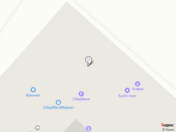 АЛФЕЯ на карте Хабаровска