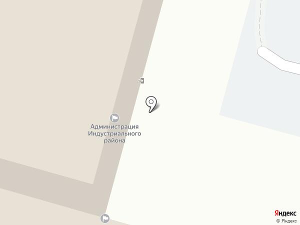 Комитет по управлению Индустриальным районом на карте Хабаровска