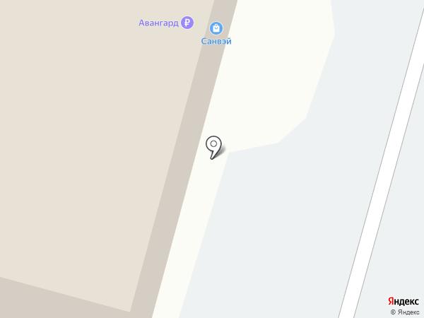 Магазин мебельной фурнитуры на карте Хабаровска
