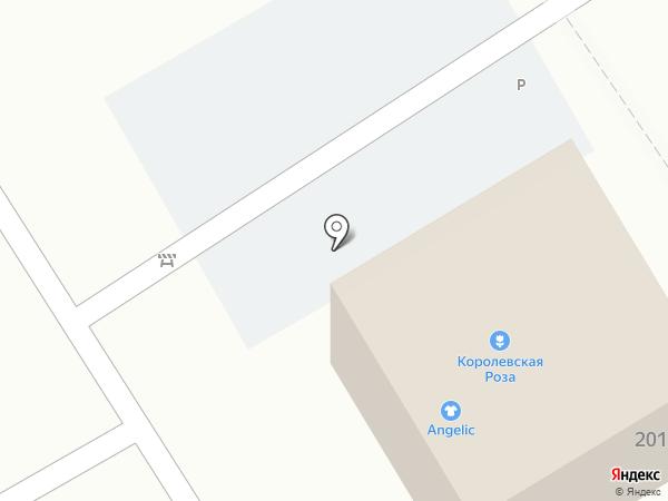 Королевская Роза на карте Хабаровска