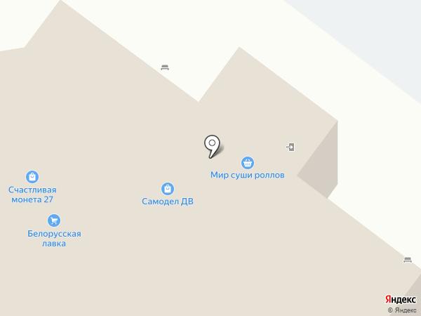 Krasa на карте Хабаровска